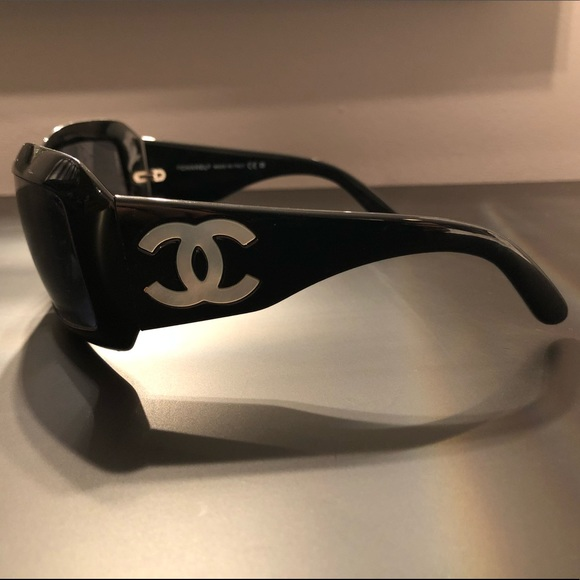 Chanel Accessories Mother Of Pearl Sunglasses With New